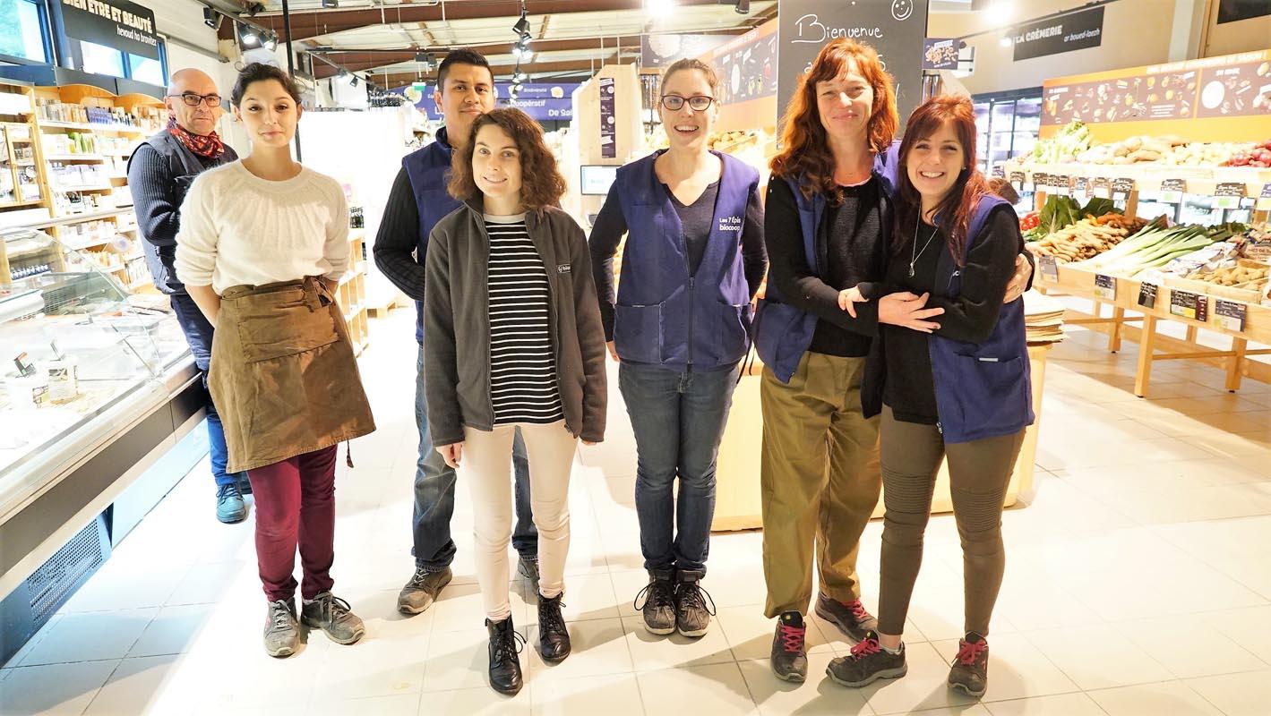L'équipe du magasin de Riantec