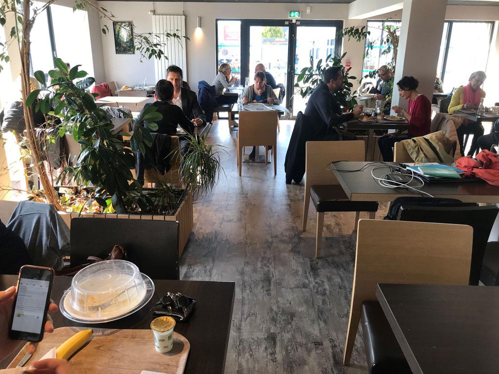 Salle du restaurant Croc Épi à Lorient Keryado