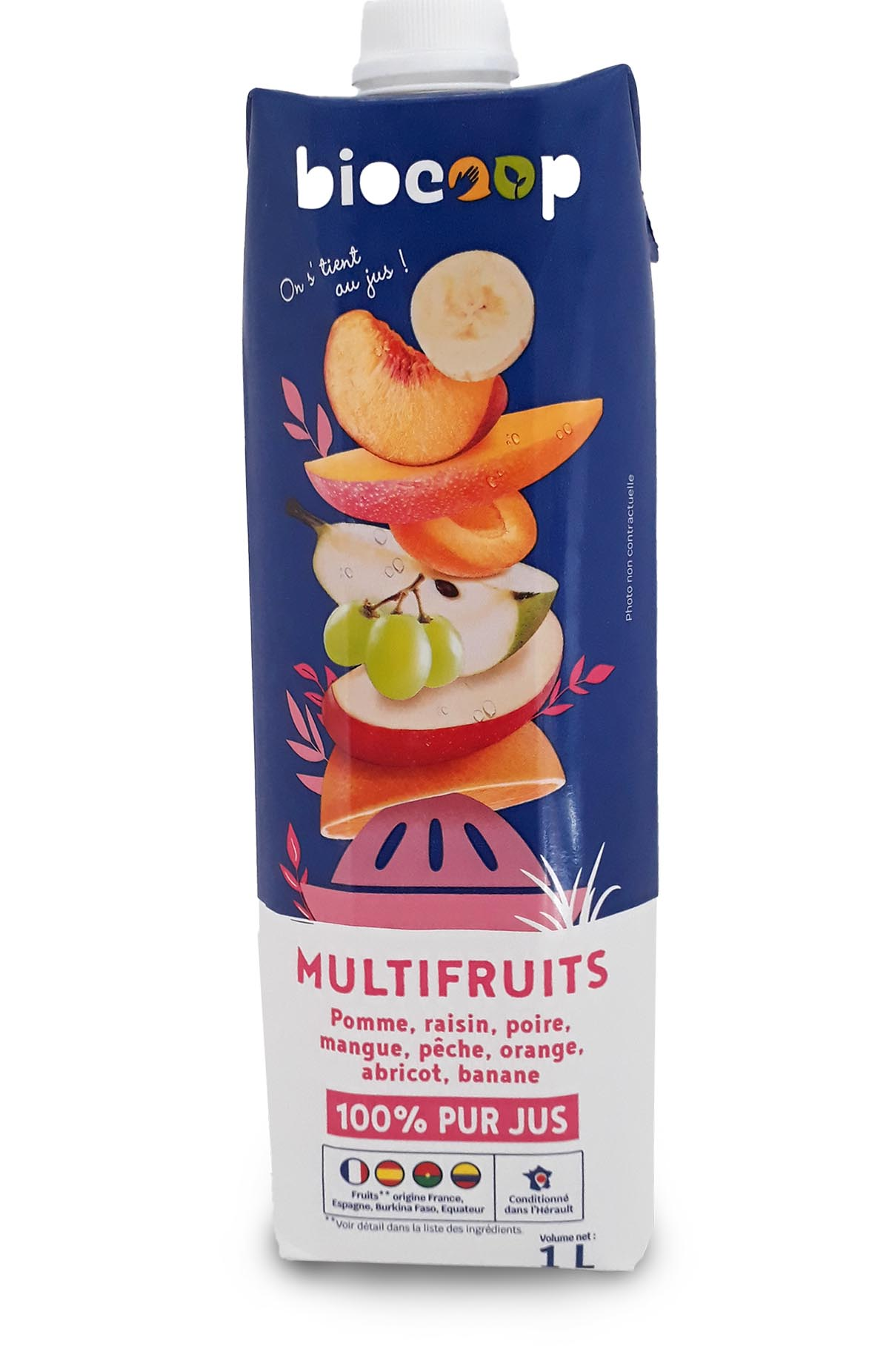 jus multifruits marque biocoop