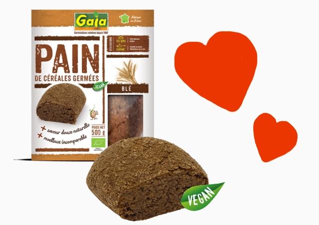 Pain au blé germé